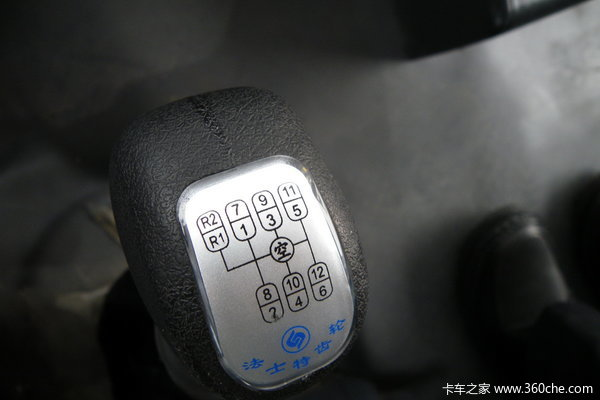 试驾陕汽德龙F3000