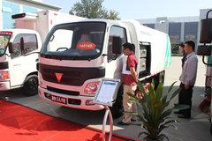 福田 欧马可1系 82马力 3360轴距单排厢式轻卡(电动环卫车) 卡车图片