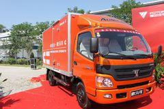 福田 欧马可3系 156马力 4X2 5.2米单排厢式载货车(BJ5059VBCEA-FA) 卡车图片