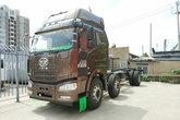 一汽解放 J6M重卡 质惠版 280马力 6X2 7.7米栏板载货车底盘(CA1250P63K1L6T3A1E5)