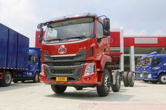 东风柳汽 乘龙H5 240马力 6X2 7.8米厢式载货车底盘(LZ5250XXYM5CB) 卡车图片