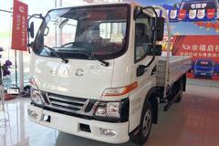 江淮 骏铃V3 快递版 109马力 4.2米单排栏板轻卡(HFC1041P93K4C2V) 卡车图片