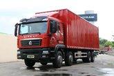 中国重汽 汕德卡SITRAK C5H重卡 310马力 8X4 9.5米厢式载货车(ZZ5316XXYN466GE1)