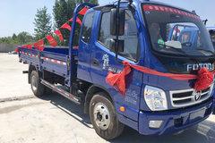 福田 奥铃捷运 130马力 3.8米排半栏板轻卡(BJ1049V9JEA-C1) 卡车图片