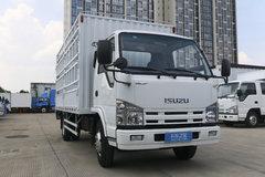 庆铃 五十铃100P 98马力 4.25米单排仓栅式轻卡(QL5040CCYA6HAJ) 卡车图片