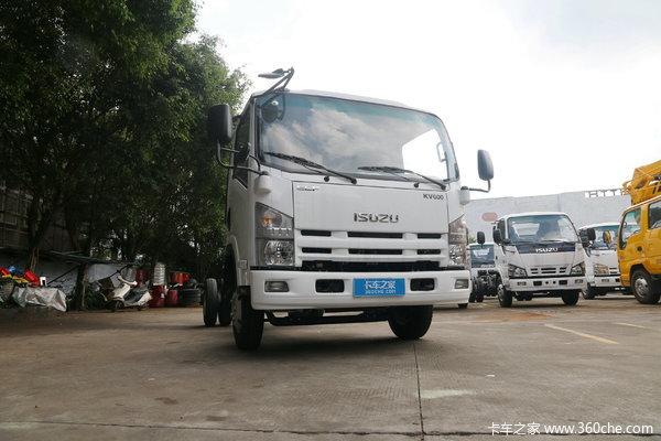 回馈客户五十铃KV600冷藏车仅售15.70万