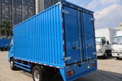 庆铃 五十铃600P 130马力 4.25米单排厢式轻卡(QL5040XXYA5HA)