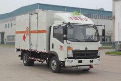 中国重汽HOWO 统帅 154马力 4X2 单排易燃液体厢式运输车(ZZ5047XRYF341CE145)