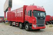 江淮 格尔发A5W重卡 300马力 8X2 9.6米仓栅式载货车(HFC5311CCYP1K4G43S5V)