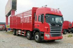 江淮 格尔发A5W重卡 300马力 8X2 9.5米排半仓栅式载货车(HFC5311CCYP1K4G43S5V) 卡车图片