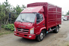 唐骏欧铃 骏骐 旗舰版 117马力 4.15米单排仓栅式轻卡(ZB5040CCYTDD6V) 卡车图片
