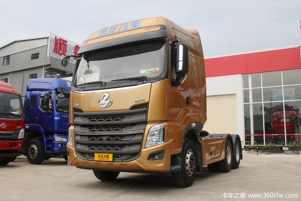东风柳汽 乘龙H7重卡 430马力 6X4牵引车(F160后桥)