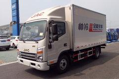 江淮 帅铃K340 全能商贸版 120马力 4.13米单排厢式轻卡(复合板)(HFC5041XXYP73K2C3V)