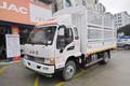 江淮 骏铃E6 156马力 3.85米排半仓栅式轻卡(HFC5043CCYP91K2C2V)