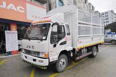 江淮 骏铃E6 156马力 3.85米排半仓栅式轻卡(HFC2043CCYP91K2C4V-S) 卡车图片