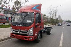 福田 奥铃CTS 150马力 3.8米排半轻卡底盘(BJ1048V9JDA-FA) 卡车图片