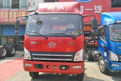 解放 麟V 160马力 5.4米排半仓栅式载货车(CA5140CCYP40K2L4E5A85) 卡车图片