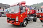 中国重汽HOWO 悍将 156马力 4.15米单排仓栅式轻卡底盘(ZZ5047CCYG3315E143)