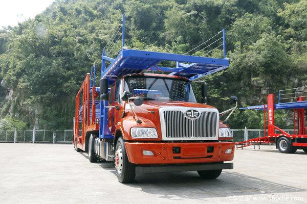 一汽柳特 安捷(L5R)重卡 310马力 4X2轿运长头牵引车