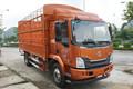 东风柳汽 乘龙L3 160马力 5.8米排半仓栅式载货车(LZ5092CCYL3AB)