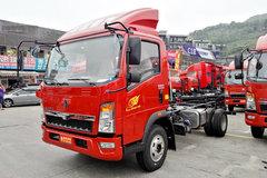 中国重汽HOWO 悍将 143马力 4.15米单排仓栅式轻卡底盘(ZZ5047CCYF3315E145)