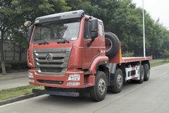 宏昌天马 重汽豪瀚底盘 340马力 8X4 LNG平板自卸车(HCL3315ZZN35P6H5L) 卡车图片