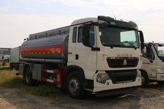 中国重汽 HOWO T5G 210马力 4X2 油罐车底盘(ZZ1167K501GE1)