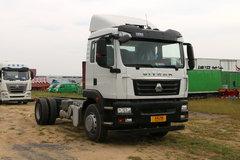 中国重汽 汕德卡SITRAK C5H重卡 310马力 4X2 厢式载货车底盘(气囊提升)(ZZ5176XXYM561GE1) 卡车图片