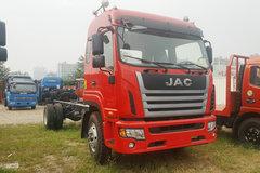 江淮 格尔发K6L中卡 180马力 4X2 6.8米排半仓栅式载货车底盘(HFC5181CCYP3K2A50S2HV) 卡车图片