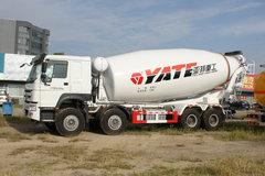 中国重汽 HOWO重卡 380马力 8X4混凝土搅拌车底盘(ZZ1317N3667E1)