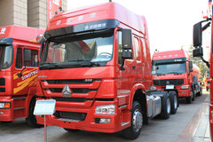 中国重汽 HOWO重卡 336马力 6X2 牵引车(ZZ4257N323CZ) 卡车图片