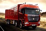 联合卡车 U350重卡 350马力 8X4 9.6米仓栅式载货车(QCC5312CCYD656)