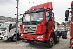 一汽柳特 金陆中卡 220马力 6X2 7.7米仓栅式载货车底盘(LZT5250CCYP3K2E5L5T3A95)