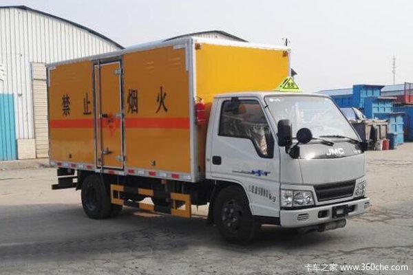 优惠1万江铃汽车爆破器材运输车促销中