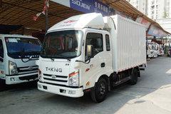 唐骏欧铃 T1系列 95马力 4X2 3.37米排半厢式轻卡(ZB5040XXYKPD6V) 卡车图片