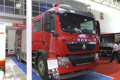 中国重汽 HOWO T5G 340马力 4X2 消防车(江特牌)(JDF5190GXFPM80/Z)