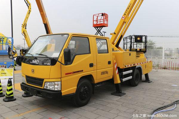 优惠3千温州江铃顺达高空作业车促销中
