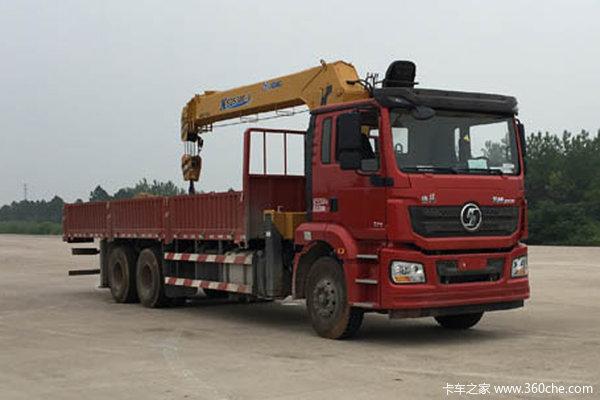 陕汽重卡 德龙新M3000 加强版 300马力 6X4 8.5米随车吊