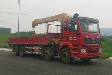陕汽重卡 德龙新M3000 标准版 340马力 8X4 8.4米随车吊(SX5310JSQHB4661)