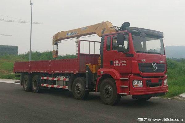 陕汽重卡 德龙新M3000 标准版 340马力 8X4 8.4米随车吊