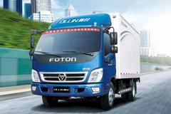 福田 奥铃捷运 科技版 130马力 4.165米单排厢式轻卡(BJ5049XXY-A8) 卡车图片