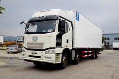 解放 J6P 350马力 8X4 冷藏车(冰凌方)(QYK5310XLC5)