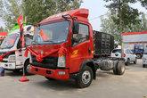 中国重汽HOWO 统帅 重载版 148马力 4.2米单排栏板轻卡底盘(ZZ1047F341CE145)