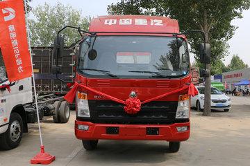 中国重汽HOWO 统帅 轻量化版 148马力 4.165米单排栏板轻卡(ZZ1047F331BE145)