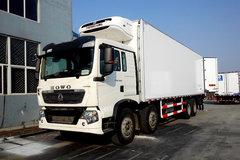 中国重汽 HOWO T5G 340马力 8X4 冷藏车(冰凌方)(QYK5311XLC5)