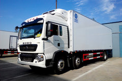 中国重汽 HOWO T5G 280马力 6X2 冷藏车(冰凌方)(QYK5251XLC5)