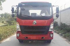 中国重汽HOWO G5X中卡 轻载版 210马力 5.75米排半仓栅式载货车(ZZ5167CCYG451DE1A) 卡车图片