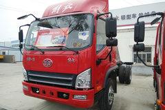 解放 麟V 141马力 3.85米排半栏板轻卡底盘(CA1041P40K17L1E5A84) 卡车图片