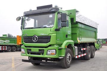 陕汽康明斯 德龙新M3000 城建标载版 345马力 6X4 5.4米自卸车(SX5250ZLJMB384)
