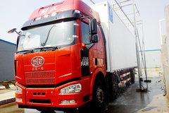 解放 J6L 220马力 6X2 冷藏车(冰凌方)图片